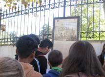 Il giovane Anas legge la battaglia a Villa Spada