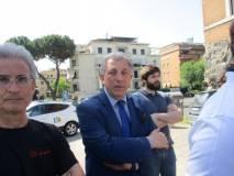 Da sinistra: il giornalista Lorenzo Grassi , il prof. Stefano Covello, lo scrittore Marco Valerio Solia