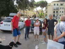 I fratelli Alberto e Stefano Frontespezi (e famiglia) seguono sempre con passione le nostre visite