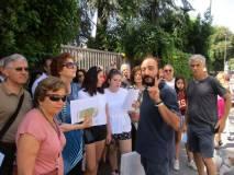 Roberto Calabria davanti al Vascello: la colonna Medici sarà imbattuta, pur a Vascello demolito