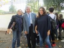 Soddisfatti per l'impegno dei ragazzi: da sinistra, Daniela Castrichini, Enrico Luciani, Cristiana Giorgi