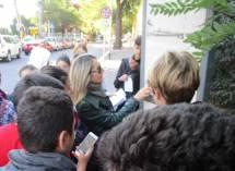 La prof. Gaetana Maria Mainenti legge i luoghi, a San Pancrazio la prima trincea allo scoperto