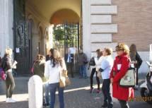 L'ingresso al Museo della Repubblica romana e della memoria garibaldina