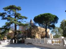 Si arriva a San Pietro Montorio
