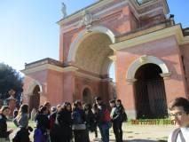 """Dove oggi è l'aiuola lì nel 1849 era piazzata la batteria francese che sparava contro i """"Romani"""" distruggendo il Vascello e Porta San Pancrazio"""