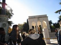 Si arriva a Mausoleo Ossario
