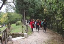 Arrivano al 7° bastione anche la prof. Luciana Palomba e i ragazzi e ragazze della classe III P