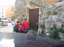 Si vuol vedere Villa Pamphilj e perciò si arriva al 3 giugno 1849: subito la palla di cannone nella roccia