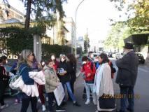 """L'attacco """"a tenaglia """"dei francesi, alle spalle di Porta san Pancrazio, arriva a Villa Spada"""