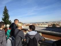 Il panorama di Roma affascina i ragazzi