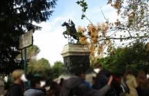 Al monumento-tomba di Anita Garibaldi