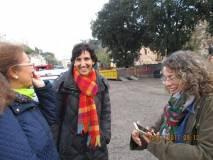 Noemi Grimaldi incontra le prof.ssa Isabella Pagliei e Carolina Troyli
