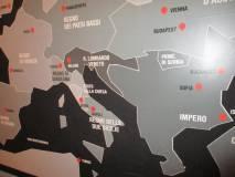Al Museo della Repubblica romana nella sala dell'Europa com'era nel 1848