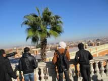 Il panorama di Roma dal Fontanone