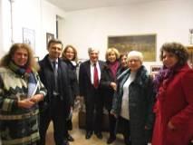 Arriva da Cagliari anche Dario Luciani, sulla sinistra accanto a Noemi Grimaldi