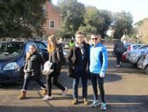 Dario Luciani incontra il suo amico Francesco appassionato maratoneta