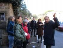 Il racconto della strenua difesa del Vascello da parte di Giacomo Medici: da sinistra Sonia Morganti e Maura Menghini