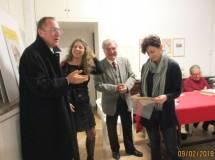 La premiazione della prof.ssa Paola Zerbino per la III C dell'IC Fratelli Cervi-sede casetta Mattei