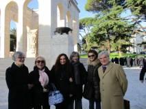 Per Roma Comune e città metropolitana la consigliera Gemma Guerrini (sulla sinistra): accanto a lei Bruna Milani e la funzionaria Comunale Assuntina Ragni