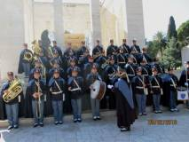 Il Concerto a chiusura della manifestazione all'Ossario, la quale continuerà fino ai monumenti di Giuseppe e Anita Garibaldi