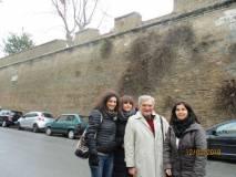 Con Enrico Luciani, da sinistra le proff.sse Gianna D'Acchioli Sabina Rossillo, Antonella Fiori