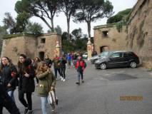 Le classi lasciano il Parco gianicolense