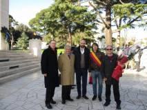 Si unisce al gruppo che vuole la manifestazione pubblica di Roma anche Giuseppe Garibaldi della Società Mutuo Soccorso G. Garibaldi, affidataria morale del Mausoleo