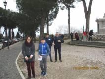 Sergio Garibaldi con la mamma Daniela Brescia, il papà e il fratello