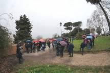 La pioggia tenta di fermaci al Belvedere
