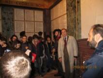 Anche Giuseppe Garibaldi, pronipote dell'EROE, è nel Mausoleo: serve un aiuto dalla Mutuo Soccorso