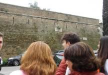 Alle brecce del VII bastione. Ma le vogliamo vedere queste mattonelle bianche... o no?