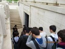 Una bella emozione… si entra al Sacrario del Mausoleo Ossario dedicato ai Caduti per Roma 1849-1870