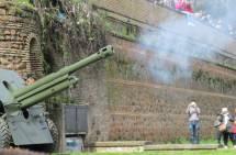 Il cannone spara