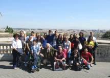 Foto di gruppo per la IV B dell'I.I.S. L.Pirelli