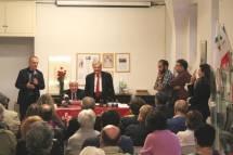 Il Consigliere Comunale Roberto Di Palma porta il saluto del Sindaco di Roma all'assemblea-ricordo di A. Cipriani