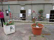 Il locale dell'associazione A. Cipriani a Via Donna Olimpia 30
