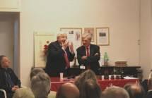 Vittorio Emiliani si emoziona nel sentire Luciani richiamare le sofferenze e i sentimenti di Cipriani