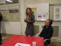 Intervento della dr.ssa Mara Minasi, direttrice del Museo della memoria garibaldina che preannuncia l'inserimento della figura di Amilcare Cipriani nel Museo da lei diretto