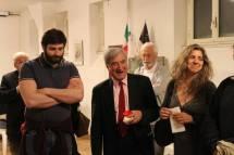 Marco Valerio Solia con Enrico Luciani e Mara Minasi