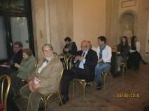 In primo piano Carlo Piola Caselli, alle sue spalle Mario Di Napoli
