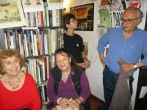 Parte del pubblico in sala, tra loro: Cecilia Di Bartolomeo, Egle Pasquali, Roberto Cerulli