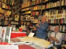 Vittorio Emiliani svolge il suo intervento su Cipriani, assai ricco e a tratti entusiasmante