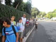 Davanti al Vascello; anche Franco Nannarelli , in formazione
