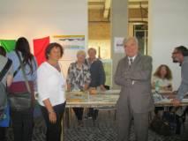 i siamo anche noi Associazione A. Cipriani Comitato Gianicolo, con Giovanna De Luca, Enrico Luciani , Ivana Colletta e Ines Pietracci