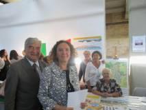 Foto ricordo dell'Assessore Laura Baldassare con l'Associazione A. Cipriani e Comitato Gianicolo