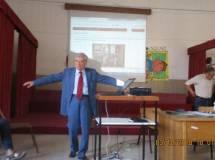 Enrico Luciani nel suo intervento