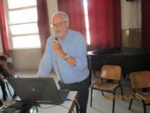 Claudio Bove spiega il sito: un particolare attenzione per la figura di Margaret Fuller