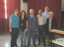 Foto di gruppo: sulla sinistra la prof.ssa Concetta de Meo , coordinatrice dell'evento