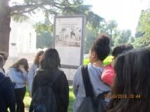La classe IV E al Mausoleo