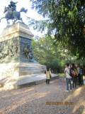 Il monumento/tomba di Anita